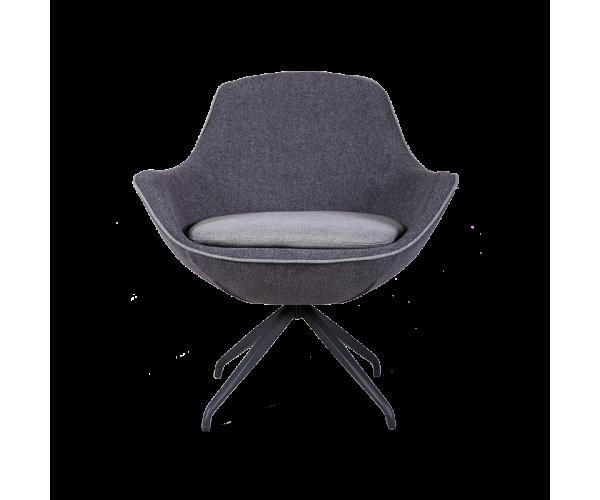 Кресло Indraft серого цвета
