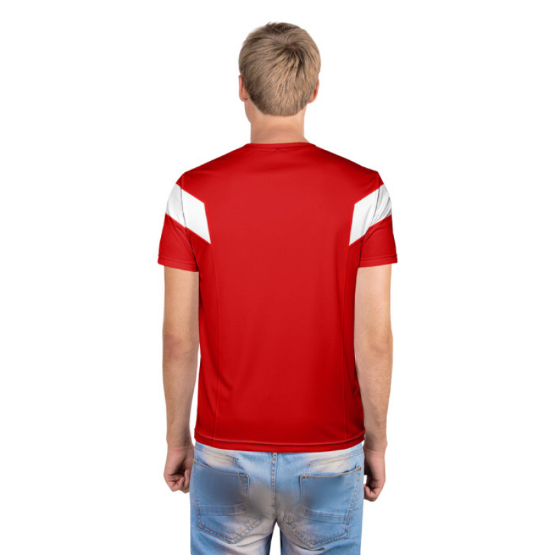 Мужская футболка 3D «Сборная СССР 1988»