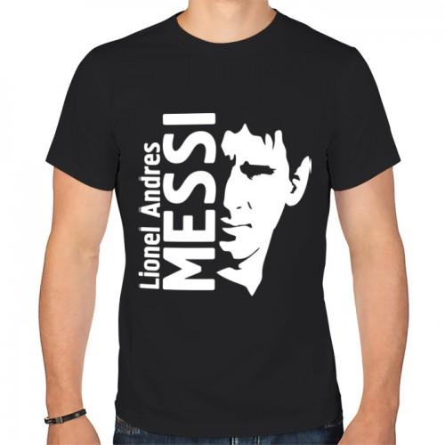 Мужская футболка хлопок «Messi»